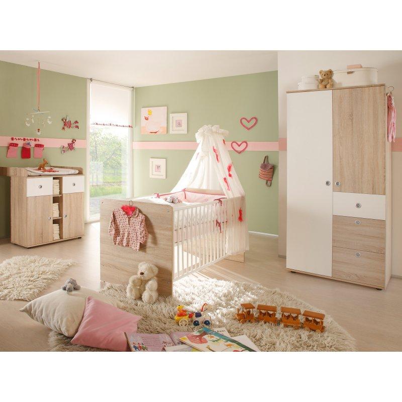 babyzimmer 3 teilig floris i 379 95. Black Bedroom Furniture Sets. Home Design Ideas