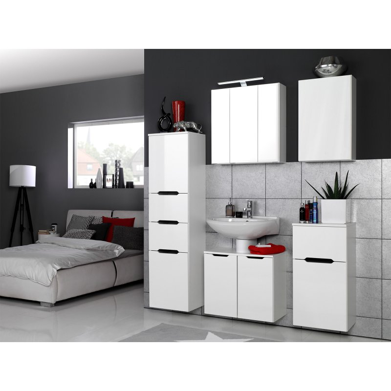 badezimmer 5 teilig delhi i 684 95. Black Bedroom Furniture Sets. Home Design Ideas