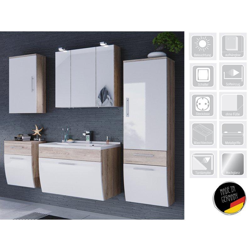 "badezimmer (5-teilig) ""salona vi"", 799,95 €, Badezimmer ideen"