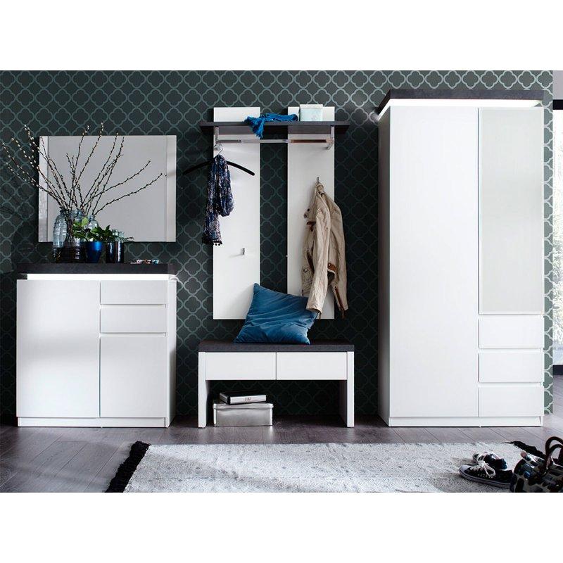 garderobe atlanta i. Black Bedroom Furniture Sets. Home Design Ideas