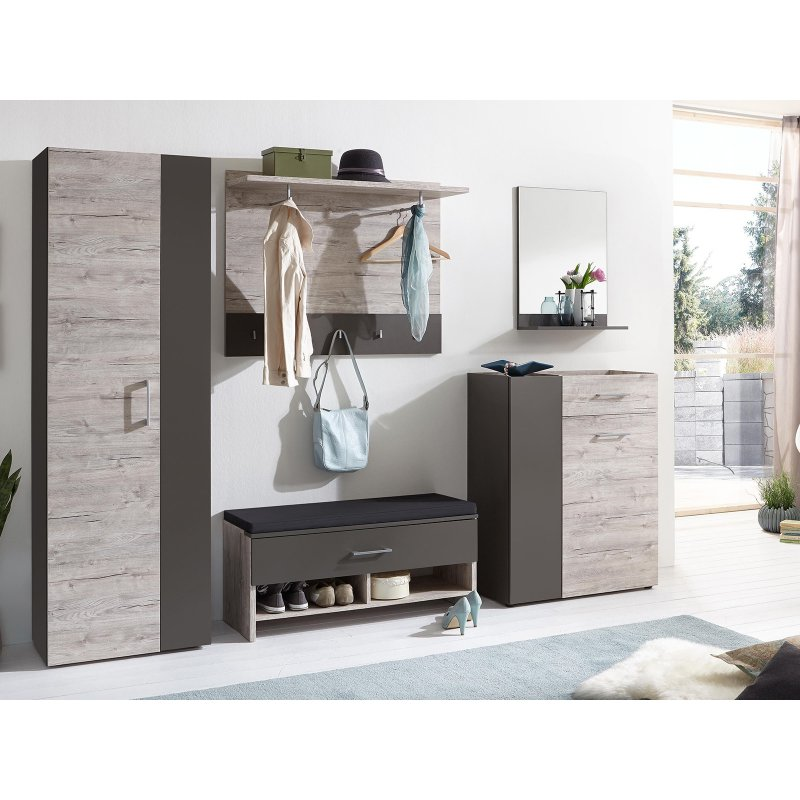 garderobe komplett set marijo i 449 95. Black Bedroom Furniture Sets. Home Design Ideas
