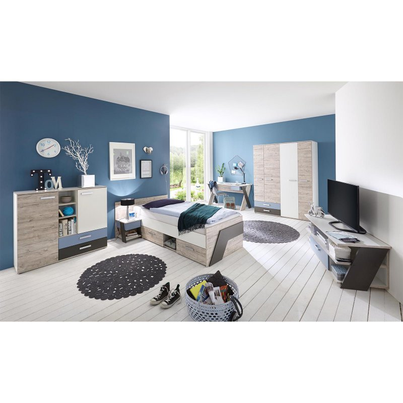 jugendzimmer komplett set ferdy i 899 95. Black Bedroom Furniture Sets. Home Design Ideas