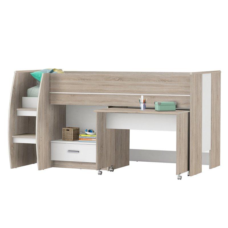 Bett Schreibtisch Kombi 2021