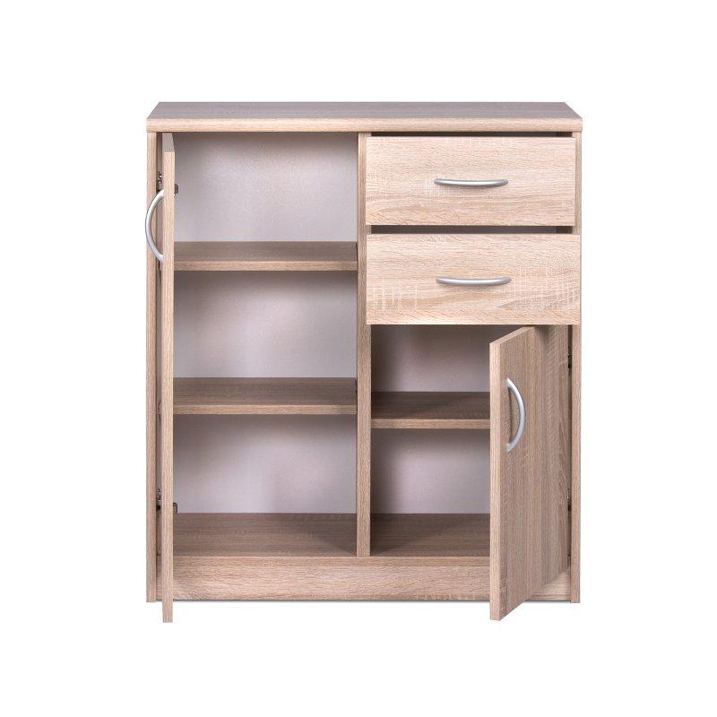 kommode bremen iii sonoma eiche 58 95. Black Bedroom Furniture Sets. Home Design Ideas