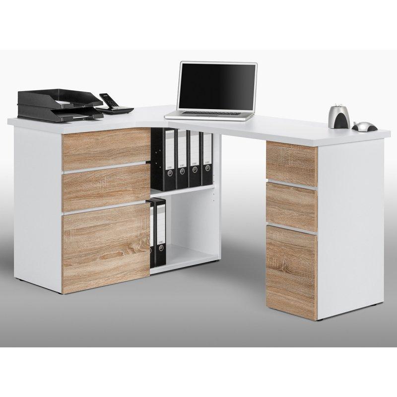 computer eckschreibtisch jad 219 95. Black Bedroom Furniture Sets. Home Design Ideas