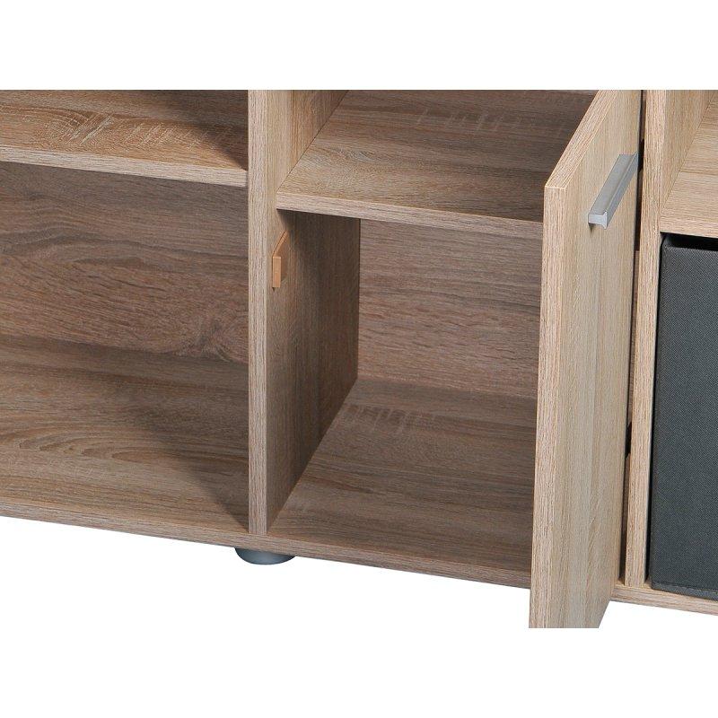 eckschreibtisch beppo eiche 129 00. Black Bedroom Furniture Sets. Home Design Ideas