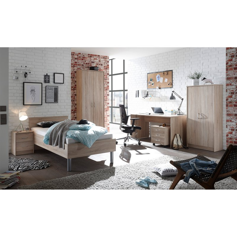 rollcontainer olli i sonoma eiche 79 95. Black Bedroom Furniture Sets. Home Design Ideas