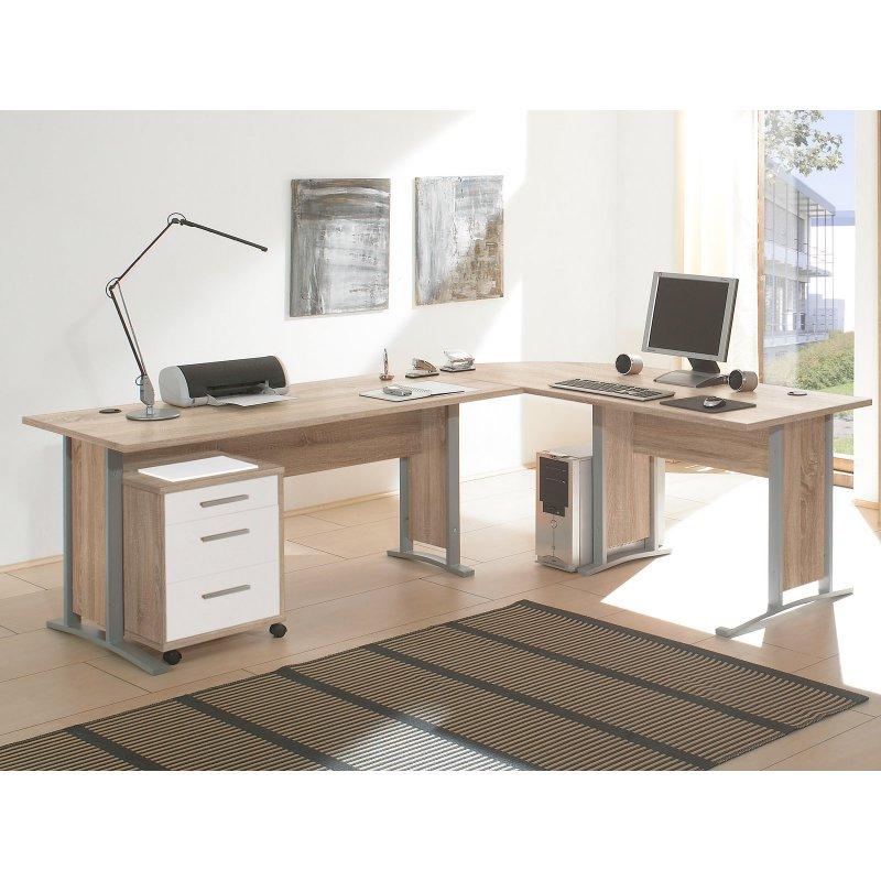 schreibtisch kombination clermont i 239 95. Black Bedroom Furniture Sets. Home Design Ideas