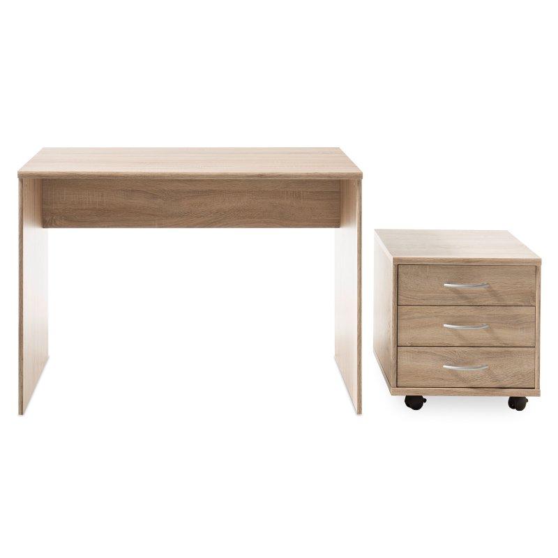 schreibtisch olli i sonoma eiche 74 95. Black Bedroom Furniture Sets. Home Design Ideas