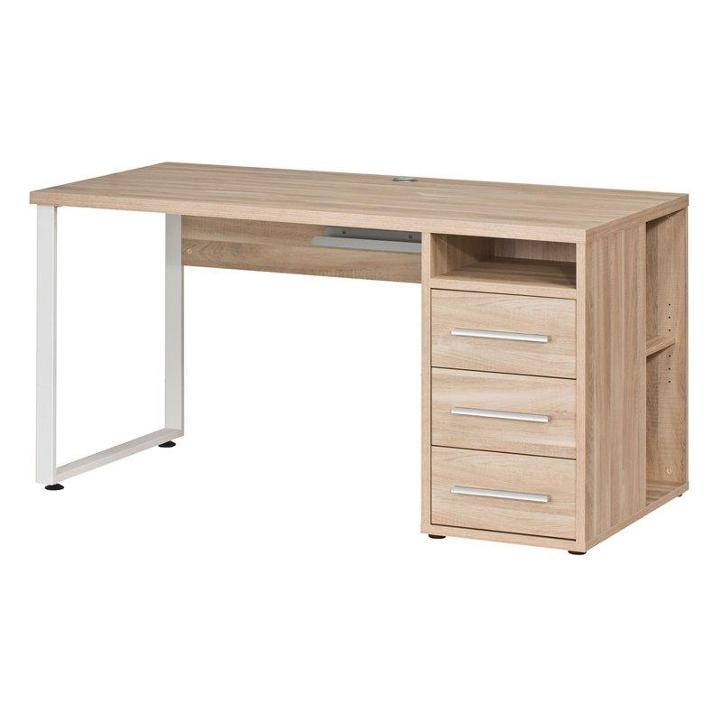 Schreibtisch set ii 329 95 for Schreibtisch eiche natur