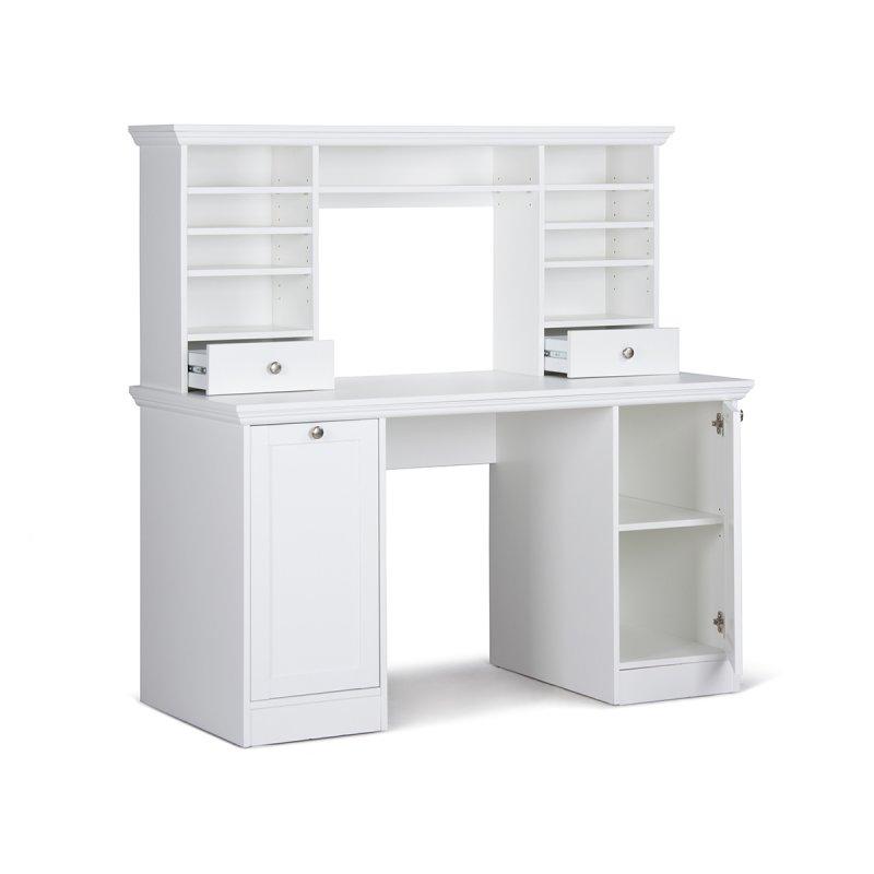 Schreibtisch mit aufsatz landsted ii 259 95 for Computer schreibtisch mit aufsatz