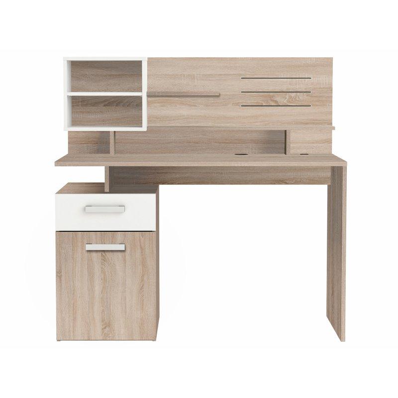 schreibtisch sonoma eiche sagerau. Black Bedroom Furniture Sets. Home Design Ideas