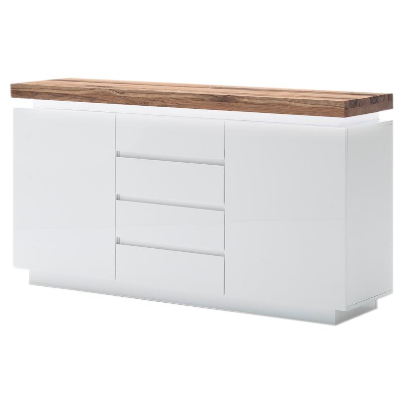 sideboard 120 cm breit lyon walnut 120cm sideboard. Black Bedroom Furniture Sets. Home Design Ideas
