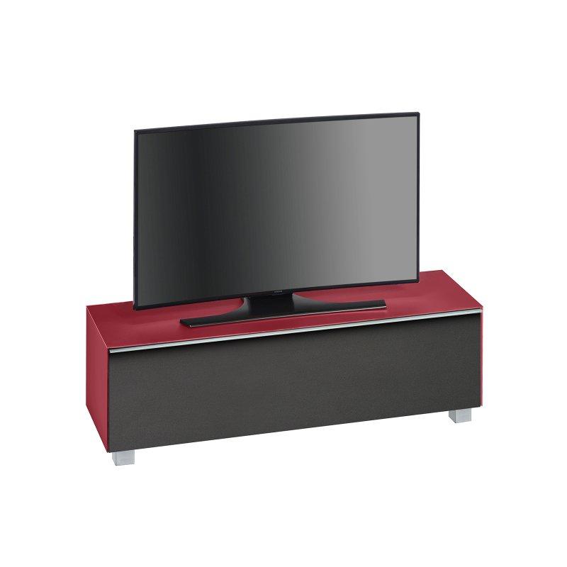 tv lowboard murray i glas himbeerrot matt 484 95. Black Bedroom Furniture Sets. Home Design Ideas