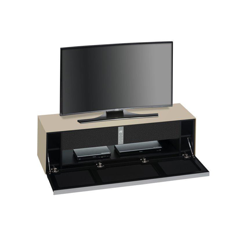 tv lowboard murray i glas sand matt 484 95. Black Bedroom Furniture Sets. Home Design Ideas