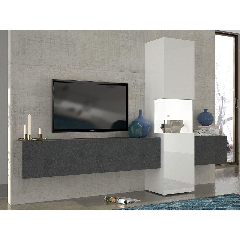 wohnwand incontro i 379 95. Black Bedroom Furniture Sets. Home Design Ideas