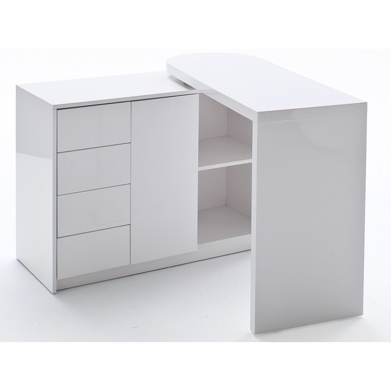 schwenkbarer schreibtisch blanco 299 95. Black Bedroom Furniture Sets. Home Design Ideas