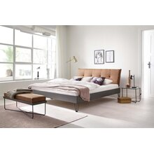 Metallbett Boston 180x200 cm cognac